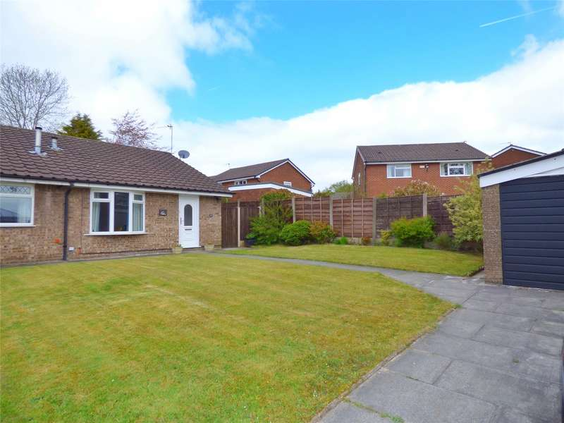 2 Bedrooms Semi Detached Bungalow for sale in Wings Grove, Heywood, Hopwood, Lancashire, OL10