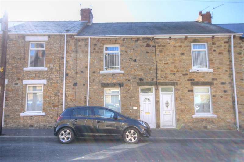 2 Bedrooms Terraced House for sale in Edward Terrace, New Kyo, Stanley, DH9