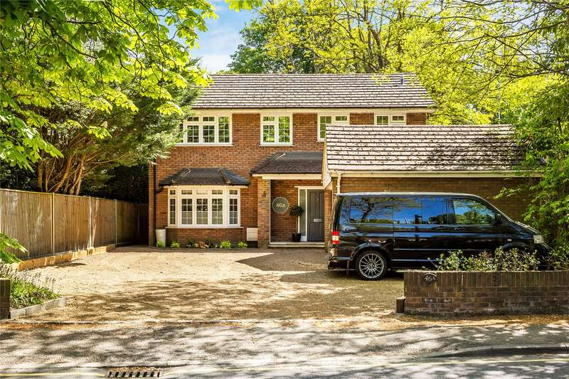 4 Bedrooms Detached House for sale in Oriental Road, Woking, Surrey, GU22