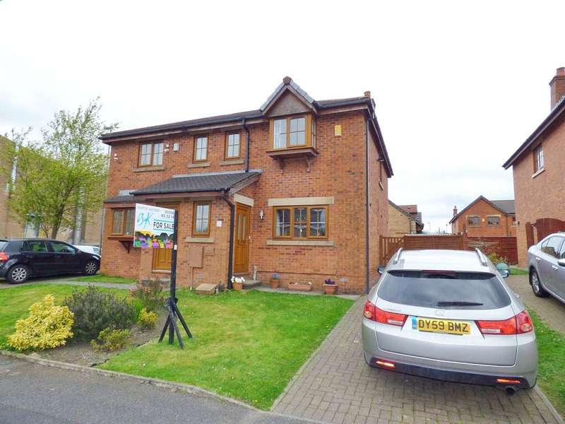 3 Bedrooms Semi Detached House for sale in Blackthorn Mews, Shawclough, Rochdale, Lancashire, OL12