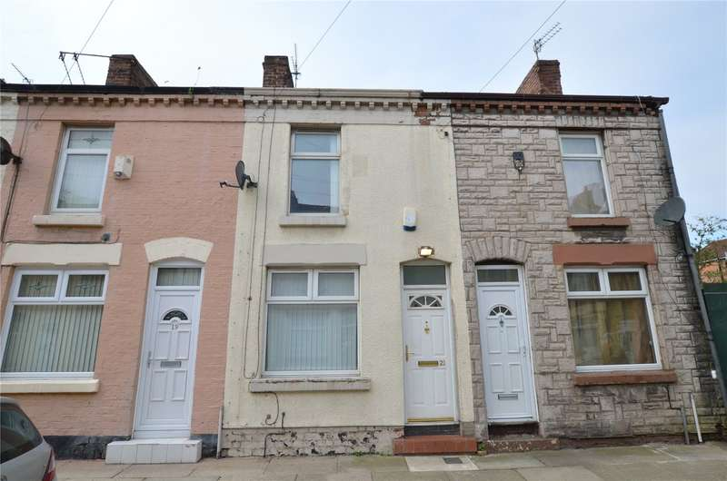 2 Bedrooms Terraced House for sale in Westcott Road, Liverpool, Merseyside, L4