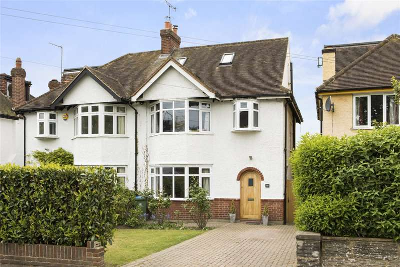 4 Bedrooms Semi Detached House for sale in Leigh Road, Cobham, Surrey, KT11