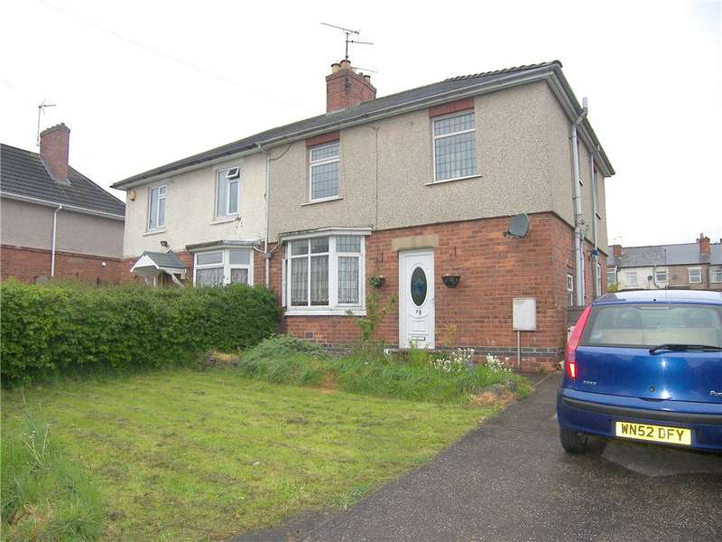3 Bedrooms Semi Detached House for sale in Preston Avenue, Alfreton, Derbyshire, DE55