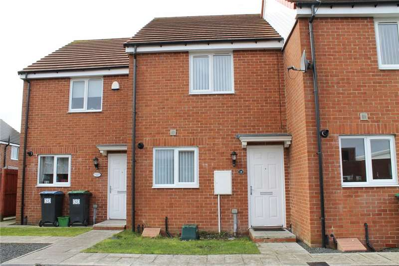 2 Bedrooms Terraced House for sale in Braidwood Mews, Stanley, County Durham, DH9