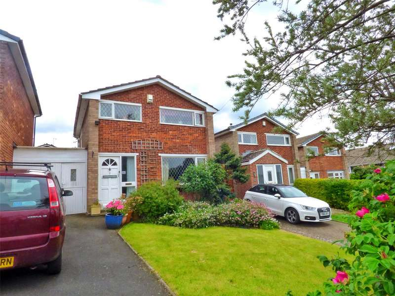 3 Bedrooms Link Detached House for sale in Cleveland Avenue, Meltham, Holmfirth, West Yorkshire, HD9