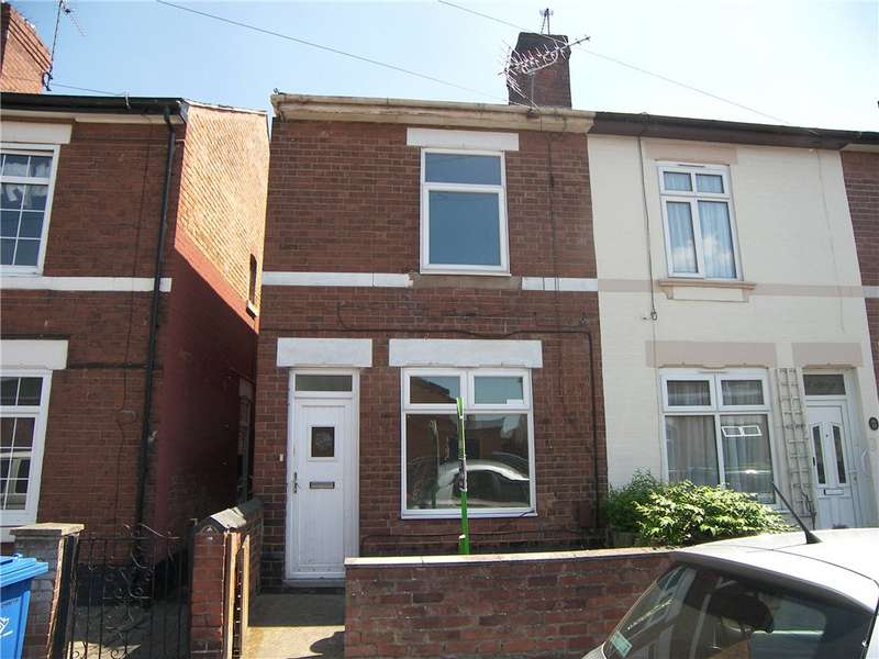 2 Bedrooms End Of Terrace House for sale in Trent Street, Alvaston, Derby, Derbyshire, DE24