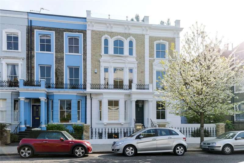 5 Bedrooms Terraced House for sale in St. Lawrence Terrace, London, W10