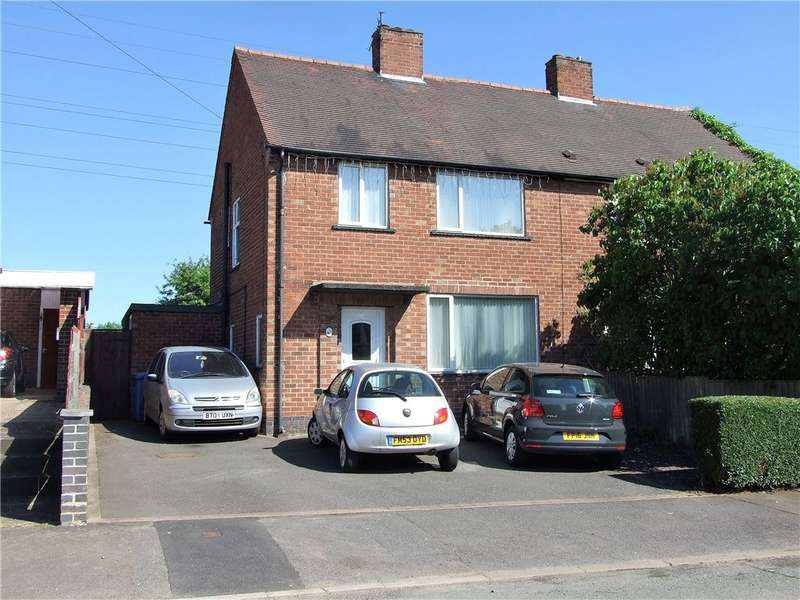 3 Bedrooms Semi Detached House for sale in Kirkdale Avenue, Spondon, Derby, Derbyshire, DE21