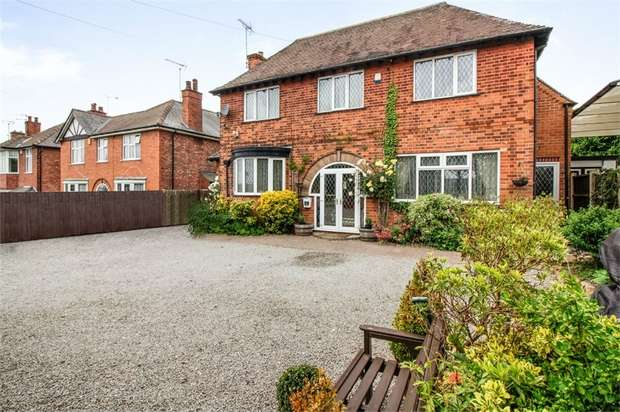 4 Bedrooms Detached House for sale in Nottingham Road, Trowell, Nottingham