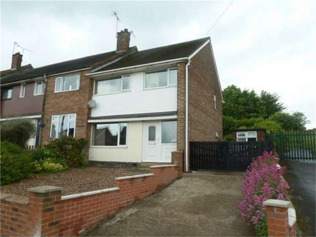3 Bedrooms End Of Terrace House for sale in Winterhill Road, Rotherham, South Yorkshire
