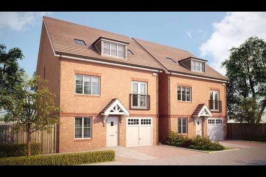 4 Bedrooms Detached House for sale in The Corton, Bagshot Road, Knaphill, Woking, GU212RN