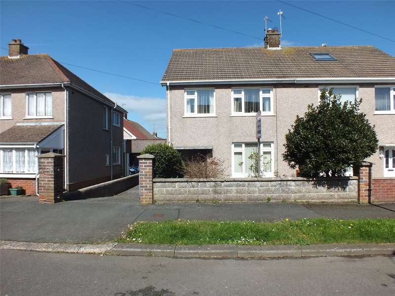 3 Bedrooms Semi Detached House for sale in Mount Pleasant Way, Milford Haven, Pembrokeshire