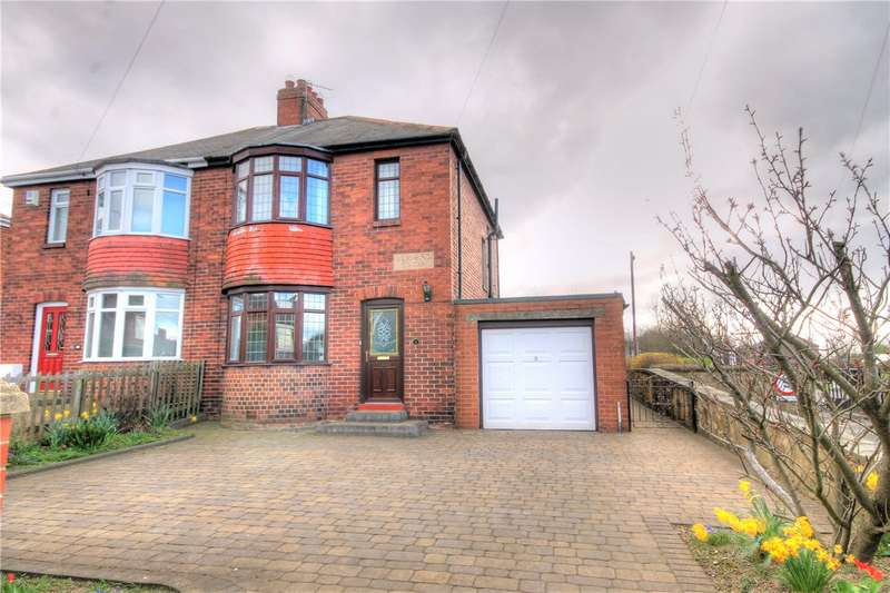2 Bedrooms Semi Detached House for sale in Holmesland Villas, Sacriston, Chester le Street, DH7