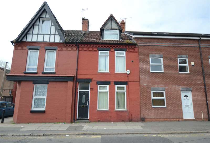 4 Bedrooms Terraced House for sale in Wellington Road, Wavertree, Liverpool, L15