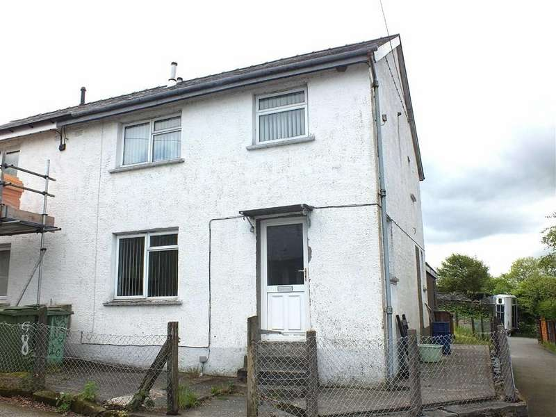 3 Bedrooms Semi Detached House for sale in 10 Tyn Y Maes, Llan Ffestiniog