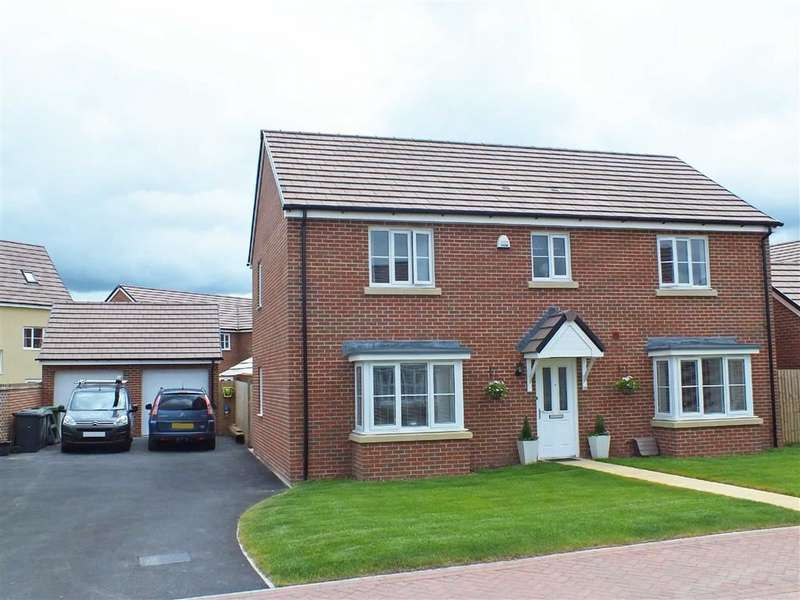 4 Bedrooms Property for sale in Kestrel Avenue, Trowbridge, Wiltshire, BA14