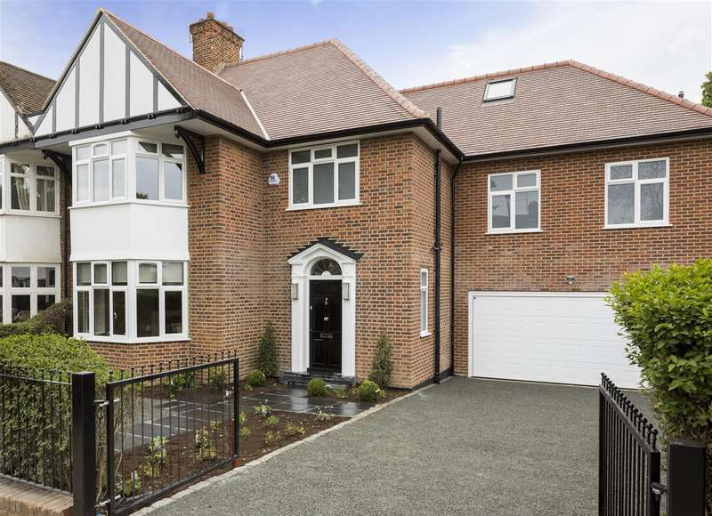 5 Bedrooms House for sale in Harman Drive, The Hocrofts, NW2