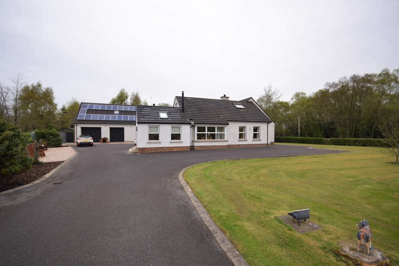 6 Bedrooms Property for sale in Includes 2 Bedroom Apartment, 31 Valley Road, Killadeas, Enniskillen