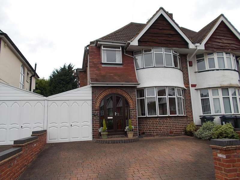3 Bedrooms Semi Detached House for sale in Heathmere Avenue, Yardley, Birmingham B25