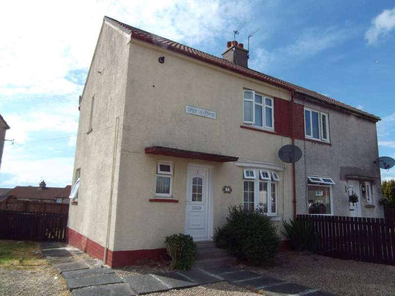 2 Bedrooms Semi Detached House for sale in 2 Spey Avenue, Kilmarnock, KA1 3PG