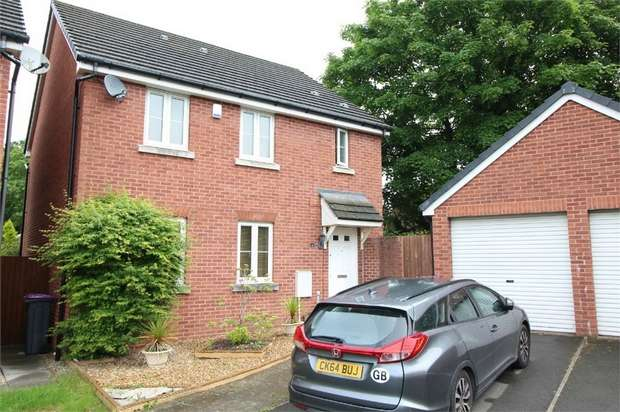 4 Bedrooms Detached House for sale in 49 Stonebridge Park, Croesyceiliog, CWMBRAN