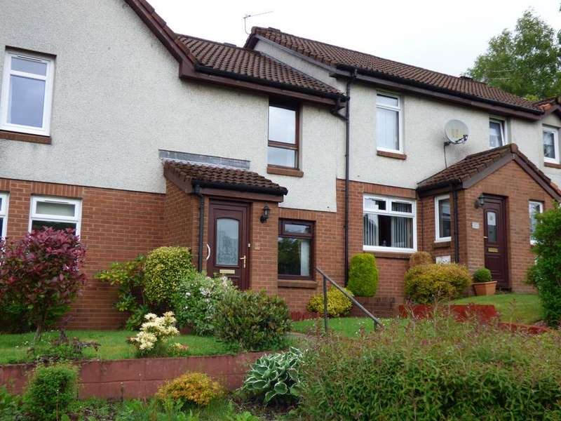 2 Bedrooms Terraced House for sale in 68 Antonine Gardens, Hardgate, G81 6BJ