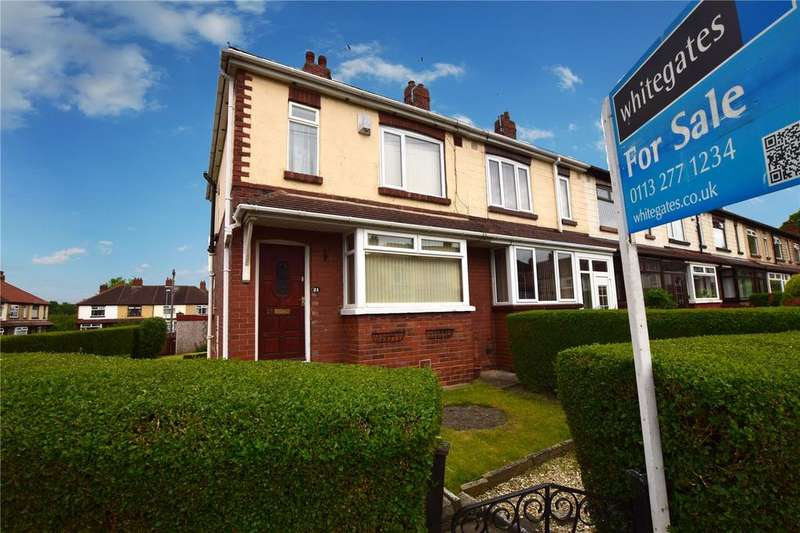 3 Bedrooms End Of Terrace House for sale in Oldroyd Crescent, Leeds, West Yorkshire, LS11