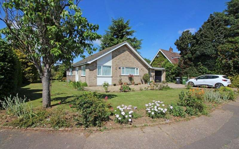 3 Bedrooms Detached Bungalow for sale in Mayfield Way, North Walsham
