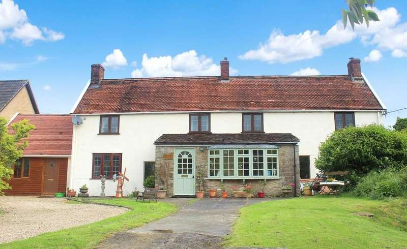 5 Bedrooms Detached House for sale in Wanstrow, Somerset