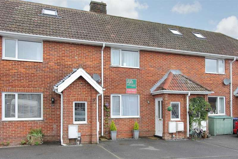 2 Bedrooms Terraced House for sale in Appleshaw Way, Perham Down, Tidworth