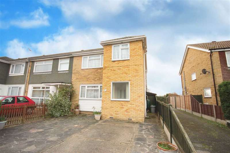 3 Bedrooms End Of Terrace House for sale in Totlands Drive, Great Clacton
