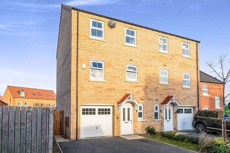 4 Bedrooms Semi Detached House for sale in Hatfield Grove, Laughton Common,Dinnington, Sheffield, S25