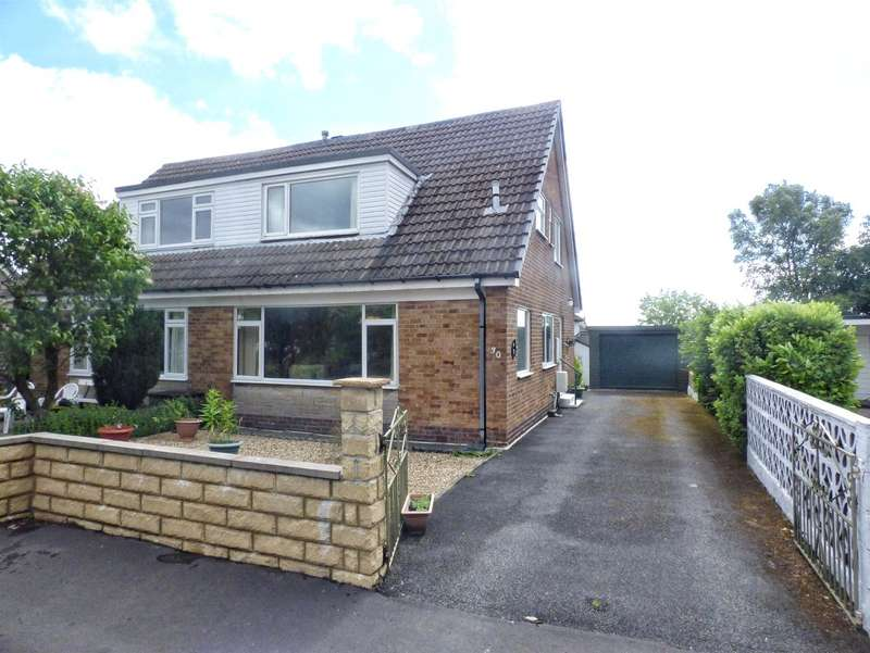2 Bedrooms Semi Detached Bungalow for sale in Kirkstone Drive, Norton Tower, HALIFAX, West Yorkshire, HX2