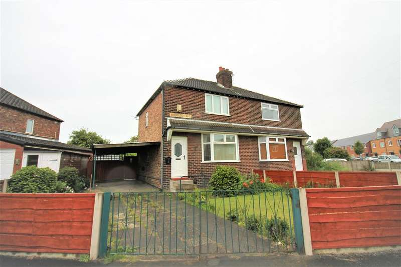 2 Bedrooms Semi Detached House for sale in Bruntleigh Avenue, Warrington