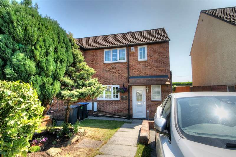 2 Bedrooms End Of Terrace House for sale in Wansbeck Close, Perkinsville, Chester Le Street, DH2
