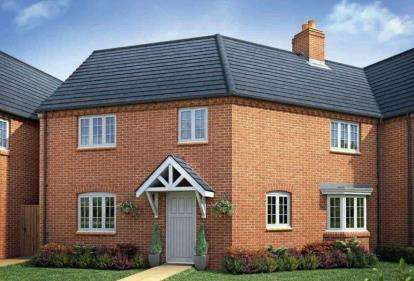 3 Bedrooms Semi Detached House for sale in The Brackens, Radstone Fields, Halse Road, Brackley