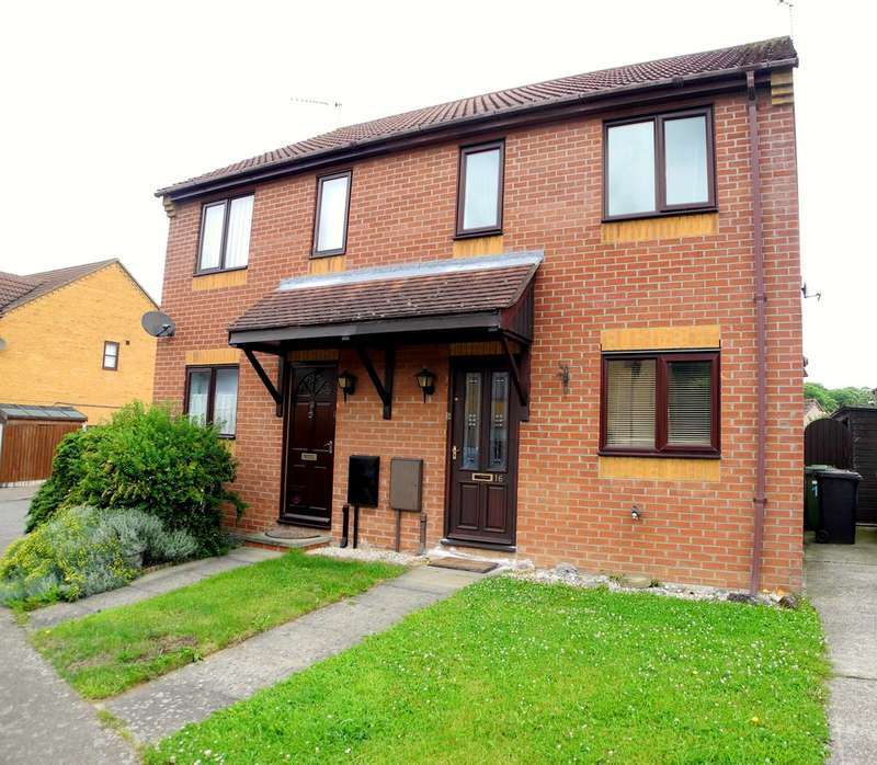 2 Bedrooms Semi Detached House for sale in Sycamore Close, Worlingham, Beccles, Suffolk