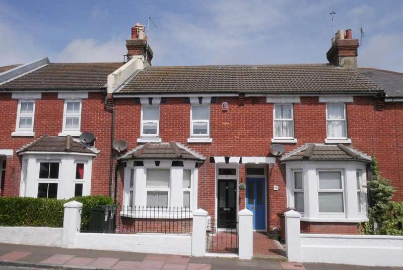 2 Bedrooms Terraced House for sale in Salehurst Road, Old Town, Eastbourne, BN21
