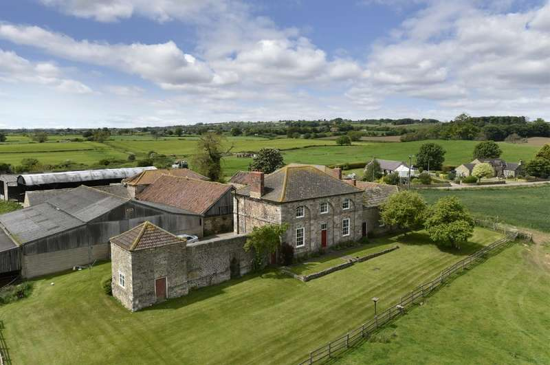 4 Bedrooms Farm House Character Property for sale in Home Farm & Glen Cottage, Hornby, Bedale, DL8 1NG