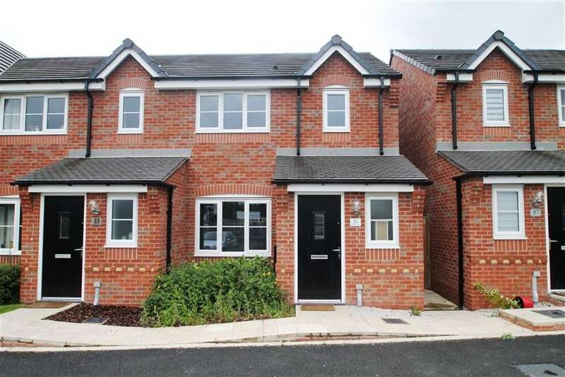 3 Bedrooms Semi Detached House for sale in Whitley Drive, Broughton
