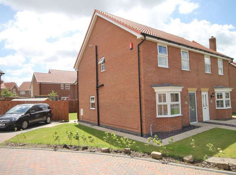 3 Bedrooms Semi Detached House for sale in BROCKLESBY AVENUE, IMMINGHAM, HABROUGH FIELDS
