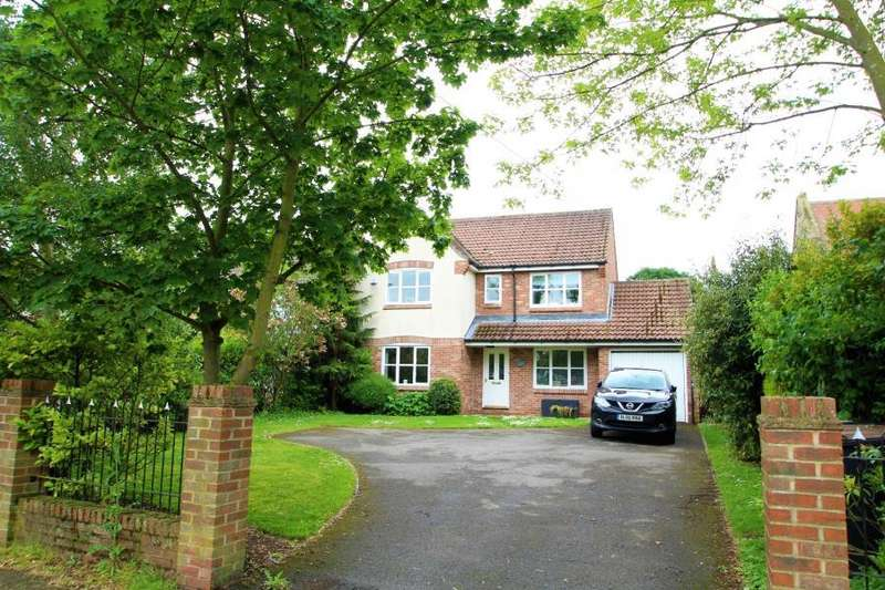 4 Bedrooms Detached House for sale in YORK ROAD, GREEN HAMMERTON, YO26 8BN