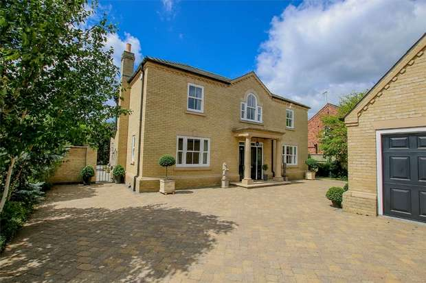 5 Bedrooms Detached House for sale in Lime Tree House, 4 Old Convent Fields, Wisbech