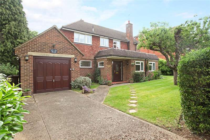 4 Bedrooms Detached House for sale in Cranley Road, Guildford, Surrey, GU1