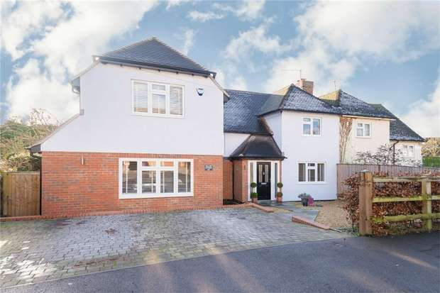 4 Bedrooms Semi Detached House for sale in Layters Avenue, Chalfont St Peter, Buckinghamshire