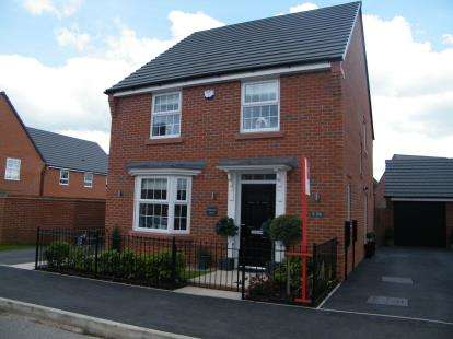 4 Bedrooms Detached House for sale in Siskin Close, Winsford, Cheshire, England