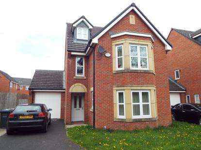 5 Bedrooms Detached House for sale in Blyton Lane, Salford, Greater Manchester