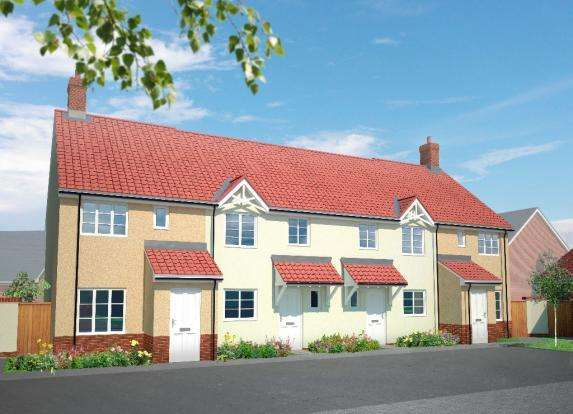 2 Bedrooms End Of Terrace House for sale in Killams Lane, Taunton TA1