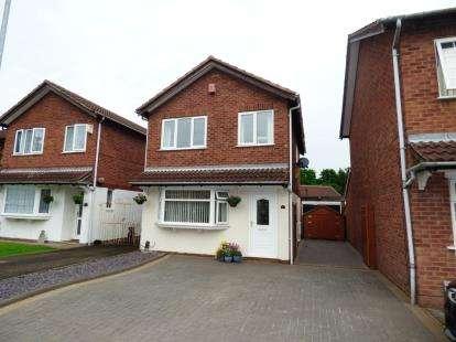 3 Bedrooms Detached House for sale in Cringlebrook, Belgrave, Tamworth, Staffordshire