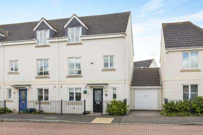 4 Bedrooms Semi Detached House for sale in Rosebay Gardens, Cheltenham, Gloucestershire, Cheltenham
